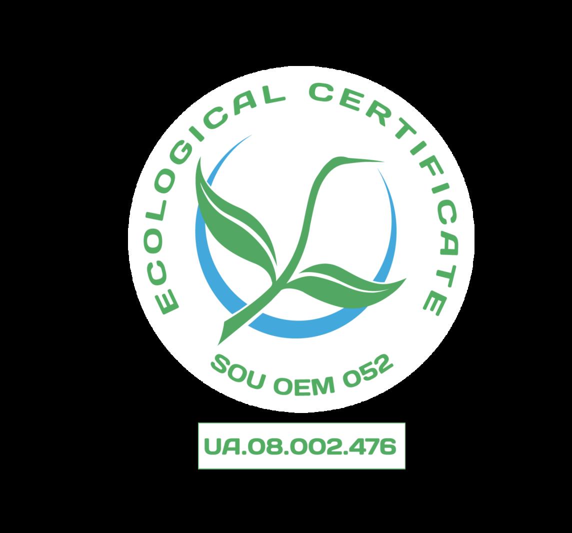 Эко-сертификация на новые продукты «UA-PHARM»!