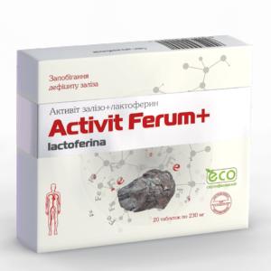 Активит Железо ﹘ при железодефицитной анемии и дефиците железа, вызванного заболеваниями ЖКТ