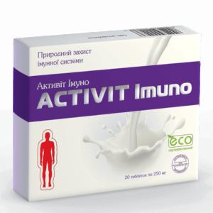 Активит Иммуно ﹘ укрепление иммунной системы при частых инфекционных заболеваниях.