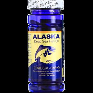 Омега-3,6,9 ﹘ из жира глубоководных морских рыб Аляски