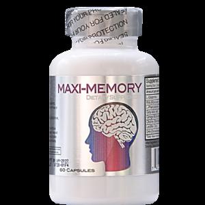 MAXI-MEMORY ﹘ активатор памяти и мозговой деятельности