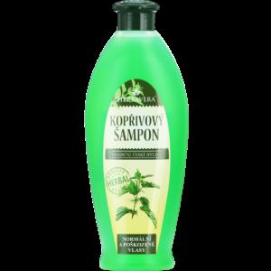 Herbavera Шампунь кропив'яний з пантенолом для пошкодженого частим фарбуванням волосся 550 мл