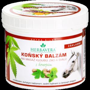 Herbavera Бальзам восстанавливающий с конским каштаном на конопляном масле 500 мл