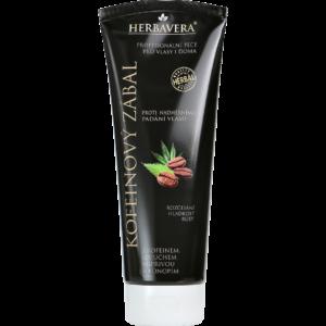 Herbavera Маска для волос с кофеином от выпадения волос 250 мл