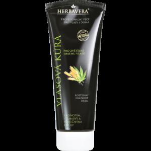 Herbavera Маска для волосся на конопляній олії для обсягу волосся 250 мл