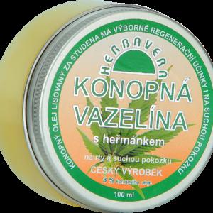 Herbavera Вазелін з ромашкою на конопляній олії 100 мл