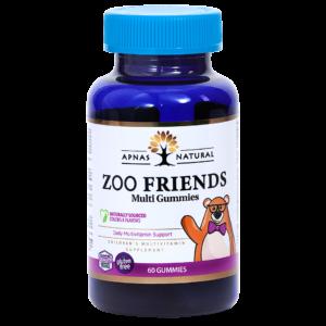 Zoo Friends (Мульти Зоо Друзья жевательные) ﹘ вкуснющие  витамины для детей