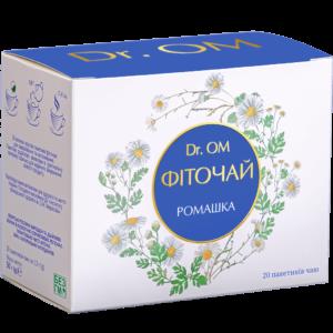 Фиточай Dr.ОМ Ромашка ﹘ в круглых пакетиках №20