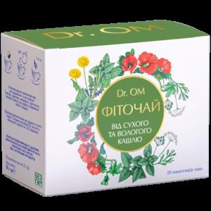 Чай от кашля DR.ОМ ﹘ в круглых пакетиках №20