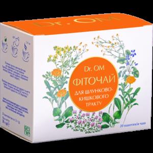 Фиточай Dr.ОМ для профилактики и лечения ЖКТ﹘в круглых пакетиках №20