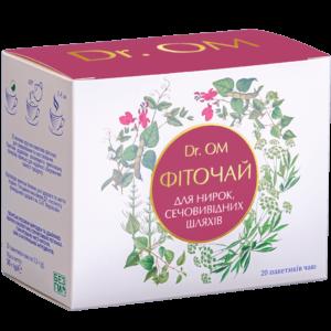 Чай для почек, мочевыводящих путей Dr.ОМ ﹘ в круглых пакетиках №20