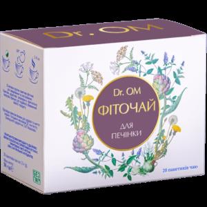 Фиточай Dr.OM для печени ﹘ в круглых пакетиках №20