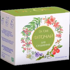 Чай для похудения Dr.ОМ﹘ в круглых пакетиках №20