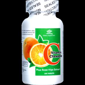 Витамин С жевательные таблетки, №100