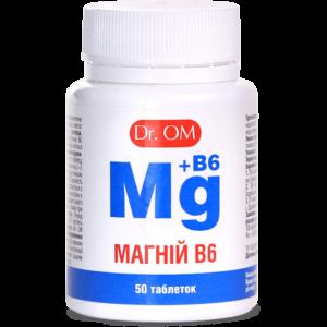 Магний B6 Dr.OM ﹘  защита от стресса, судорог и боли